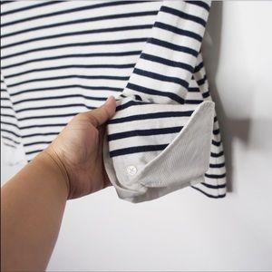 J. Crew Tops - J Crew Striped Boatneck Shirt